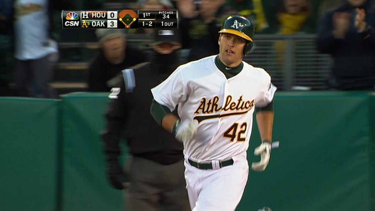 Bates de Oakland se dieron vuelo contra los Astros