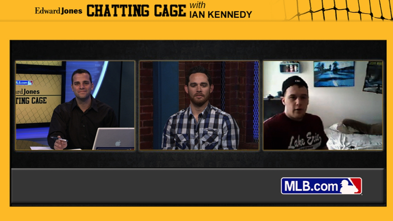 Kennedy discusses road to success in Chatting Cage