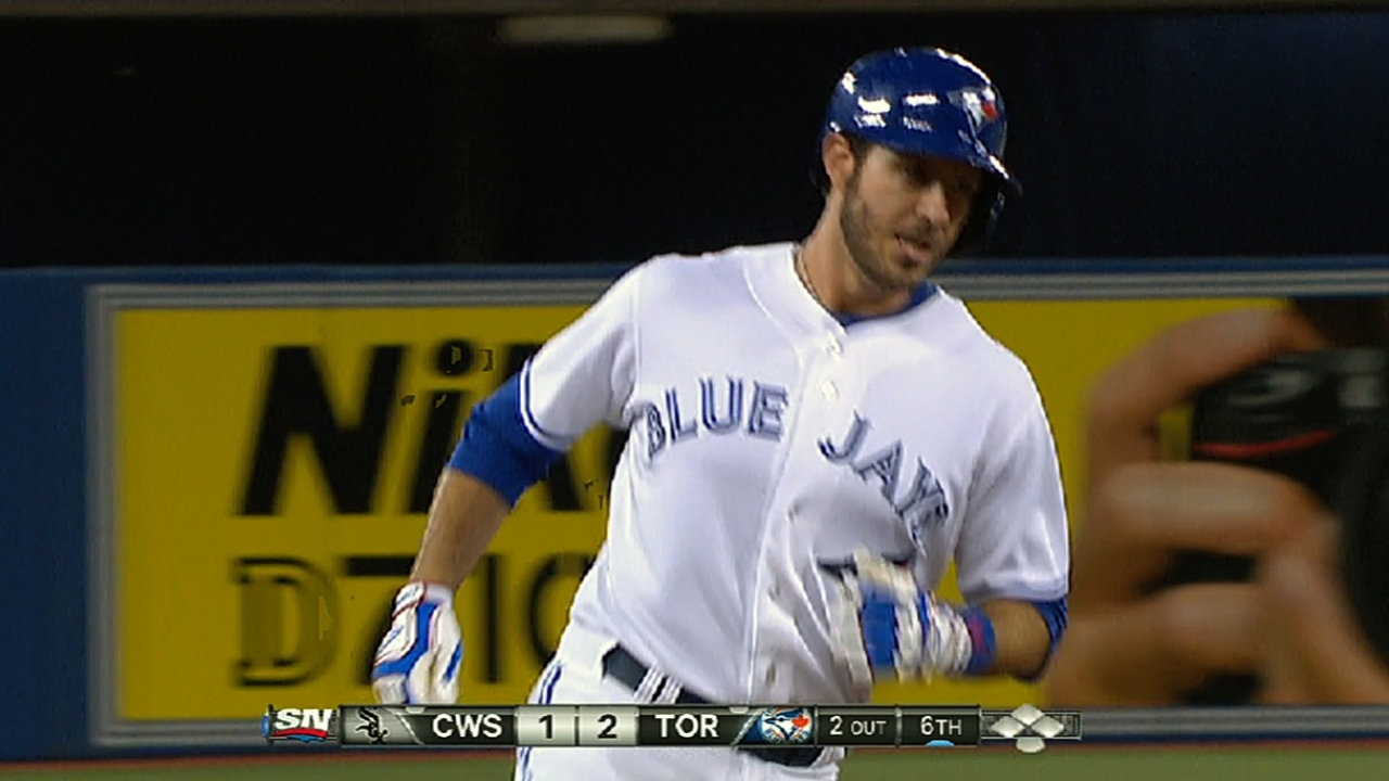 Arencibia producing at top of Blue Jays' order