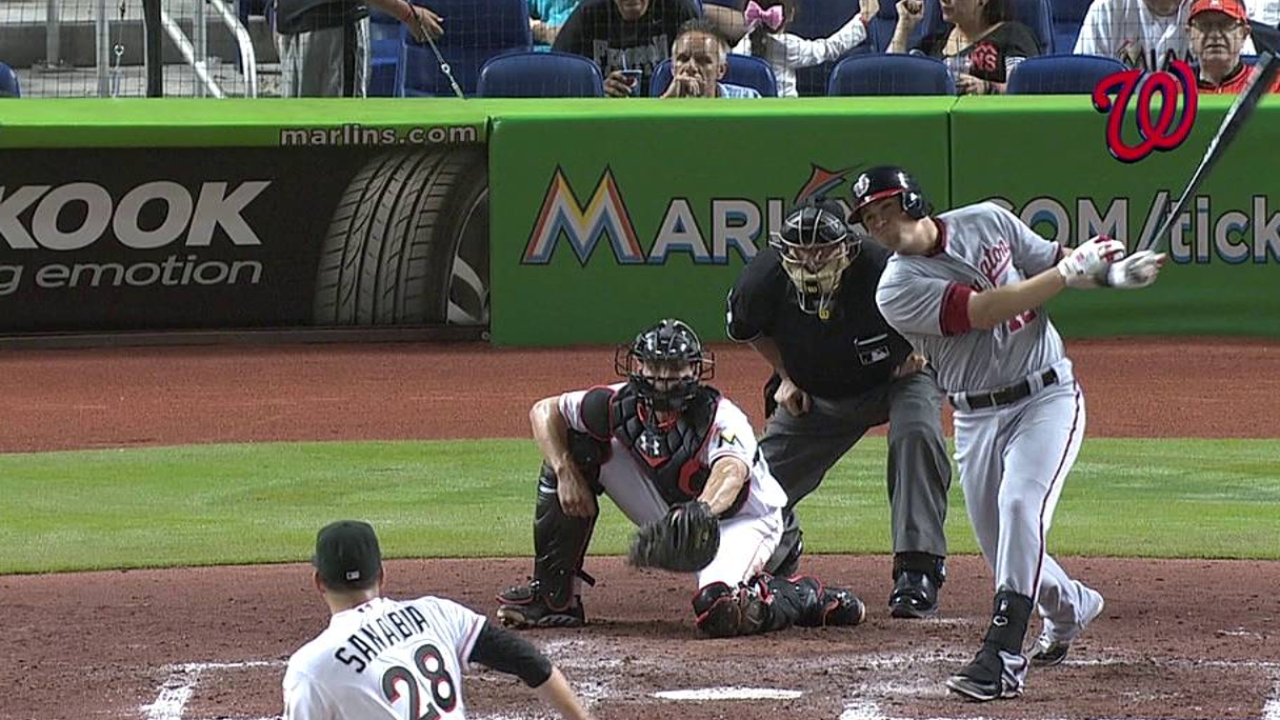 Haren finds trouble after error in loss to Marlins