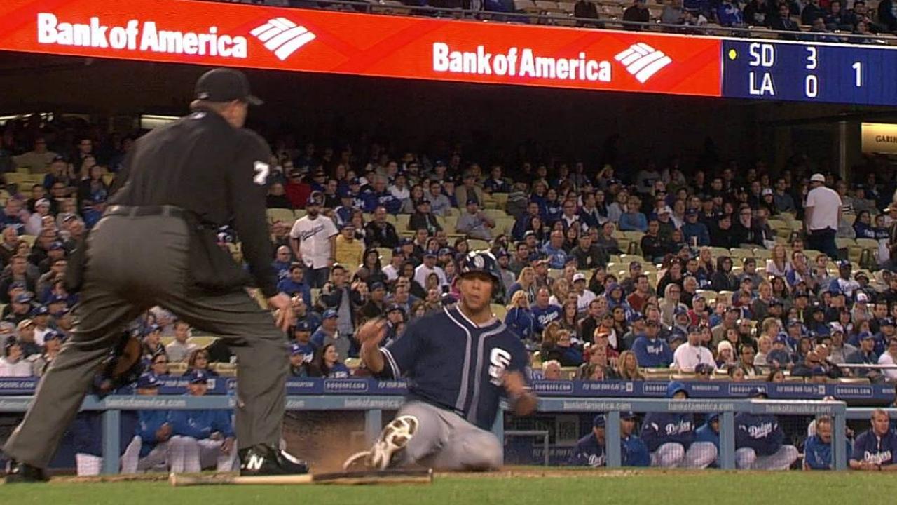 Amarista brilla en paliza de Padres sobre Dodgers
