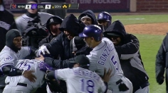 Rockies walk off in 10th to sweep doubleheader