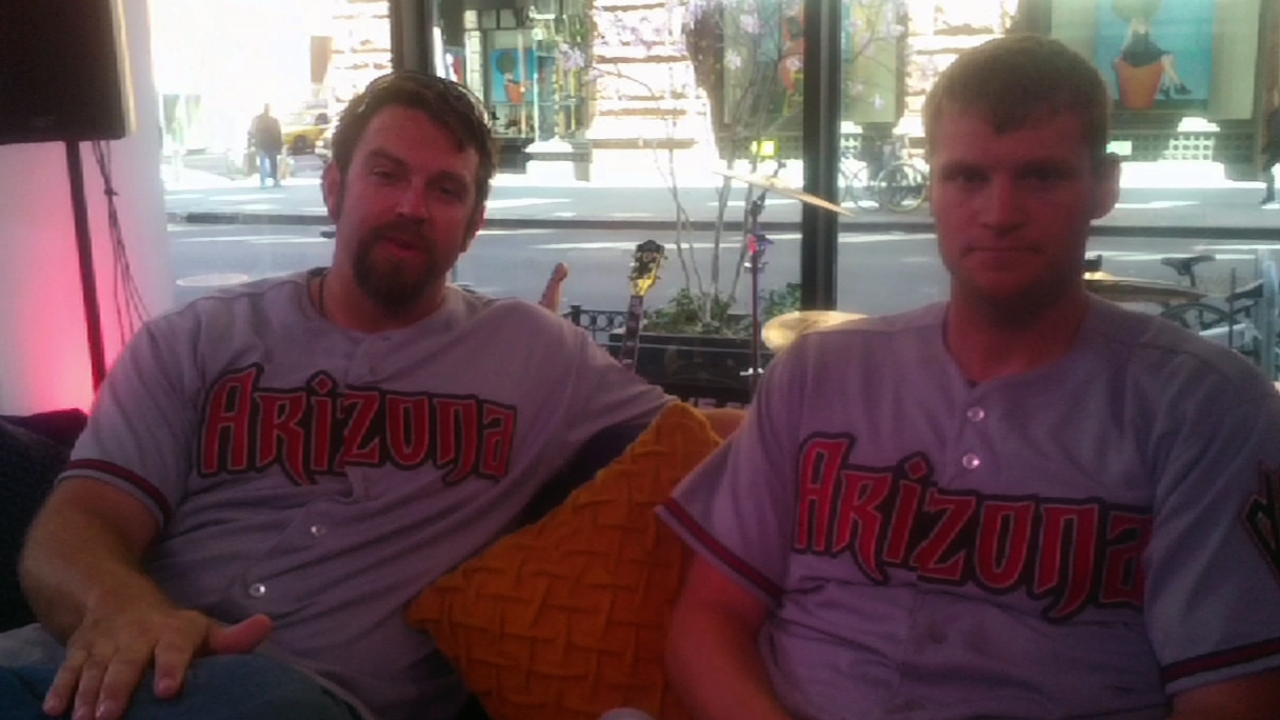Hall, D-backs relievers clean up at Fan Cave