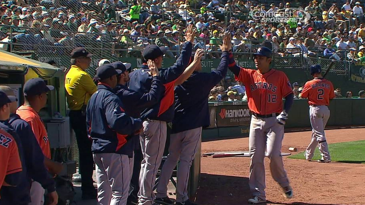 Pena excited to lead Astros to Fenway