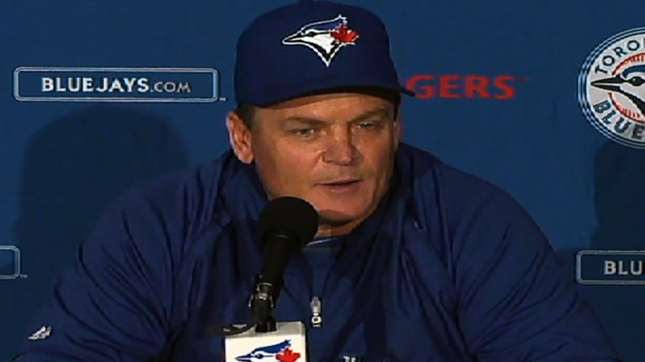 Gibbons: Time for Blue Jays to play better