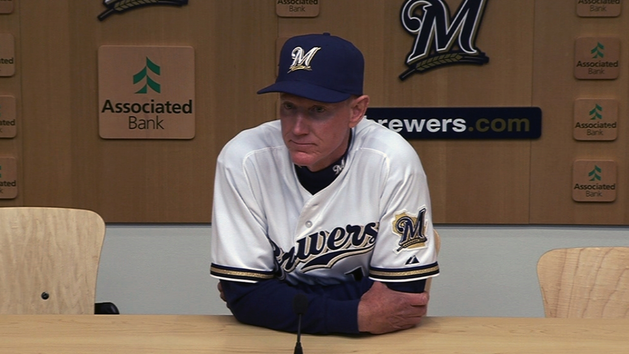 Brewers see Lohse leading by example