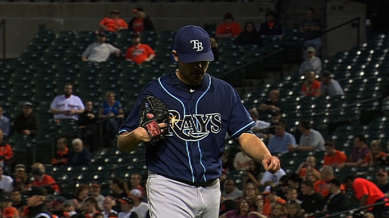 Moore continues dominance as Rays top O's