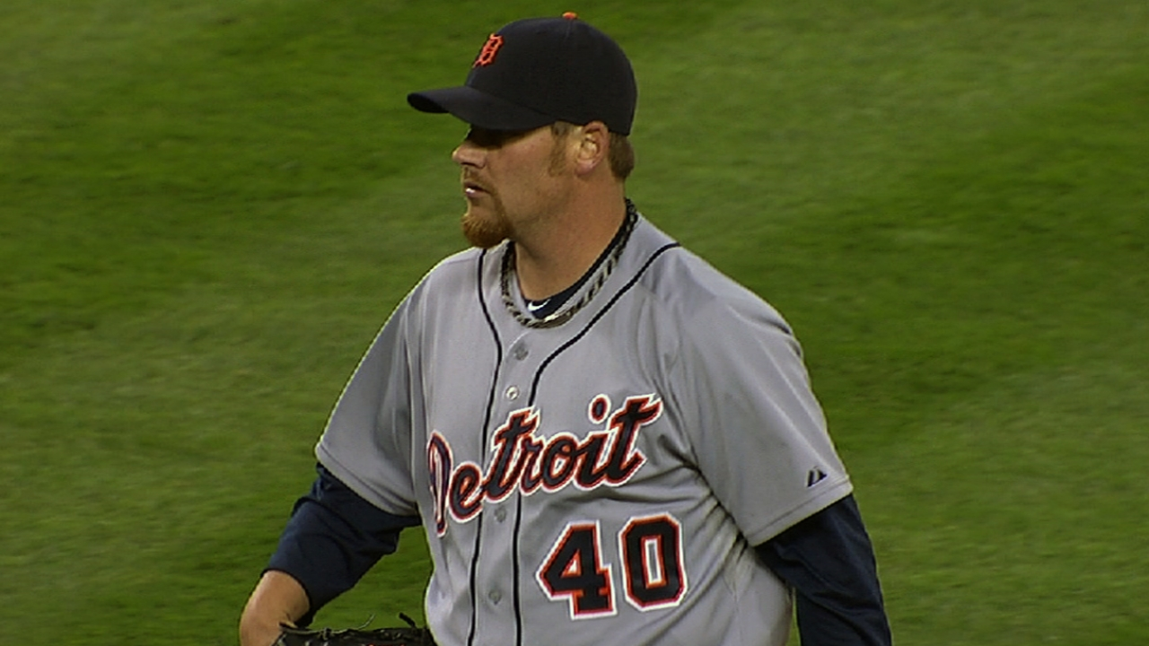 Coke's sore groin puts strain on Tigers' bullpen
