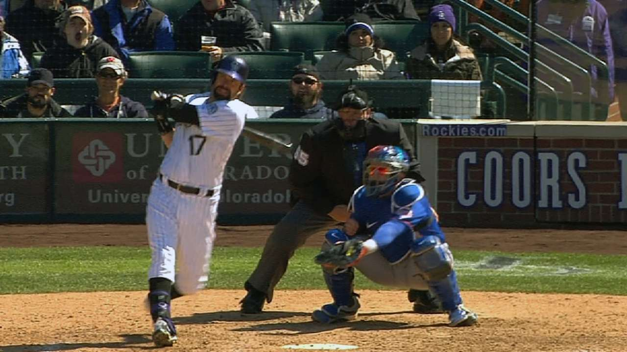 Rockies again taking advantage of home field