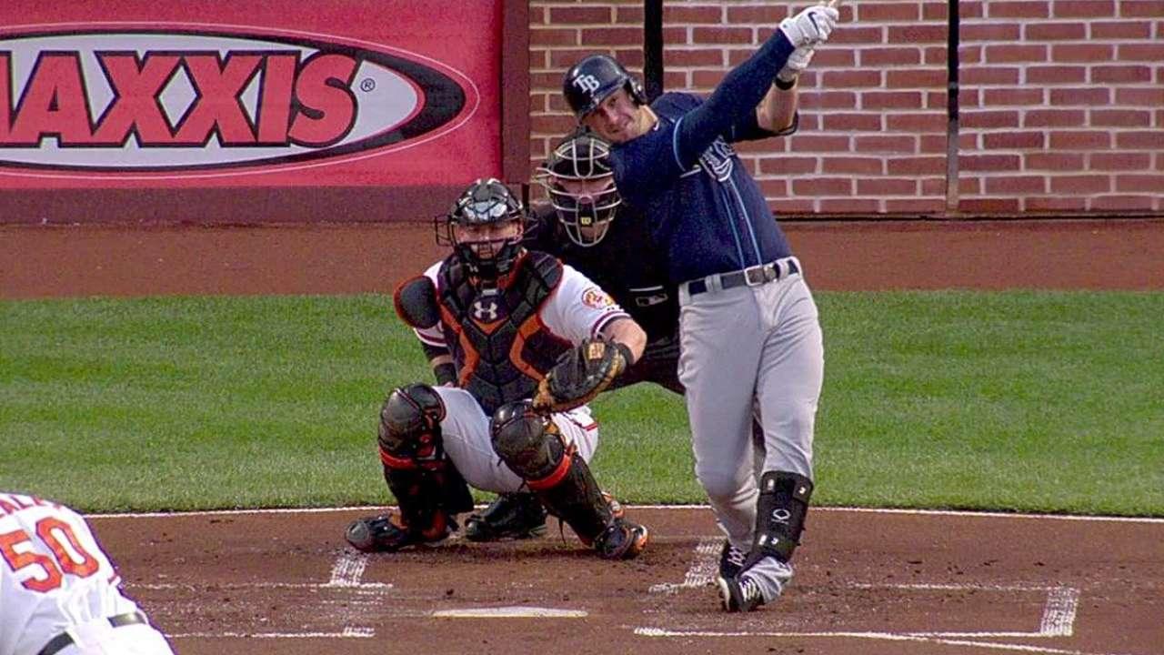 Bullpen falla y los Rays pierden ante Orioles