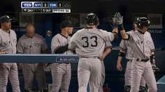 Yankees play long ball as Pettitte clips Blue Jays