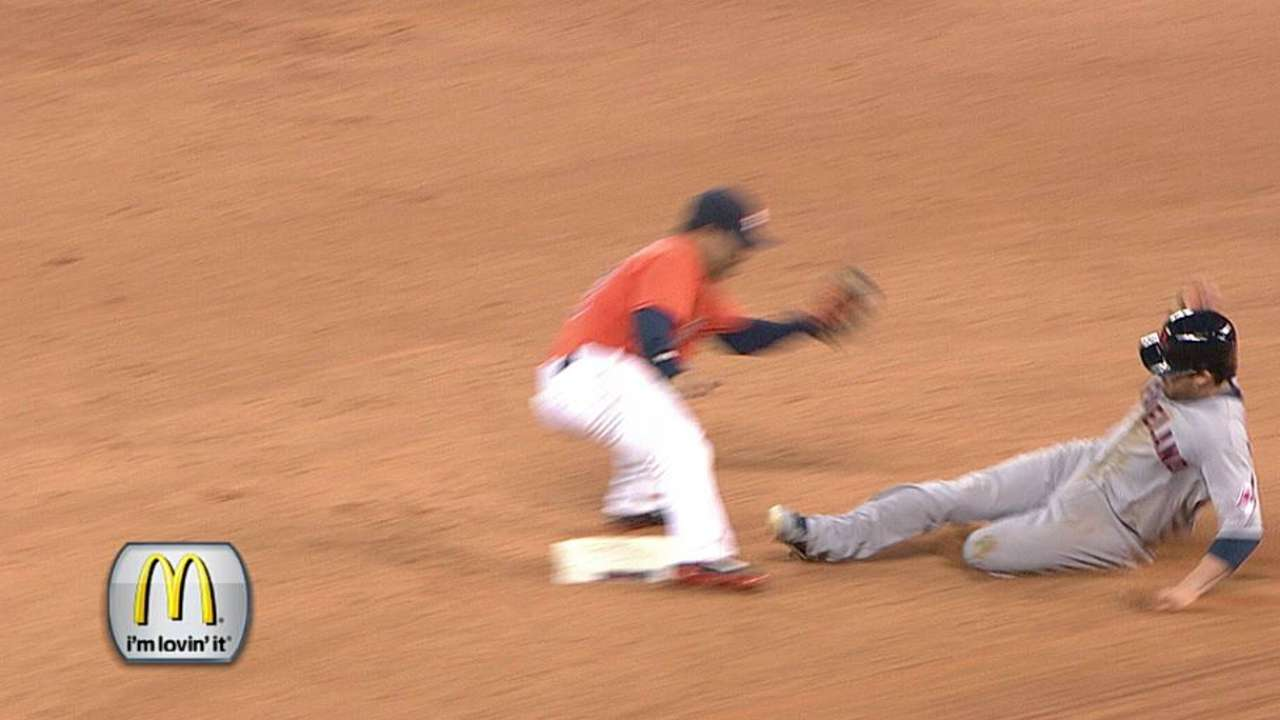 Kipnis glad to be back in action against Astros