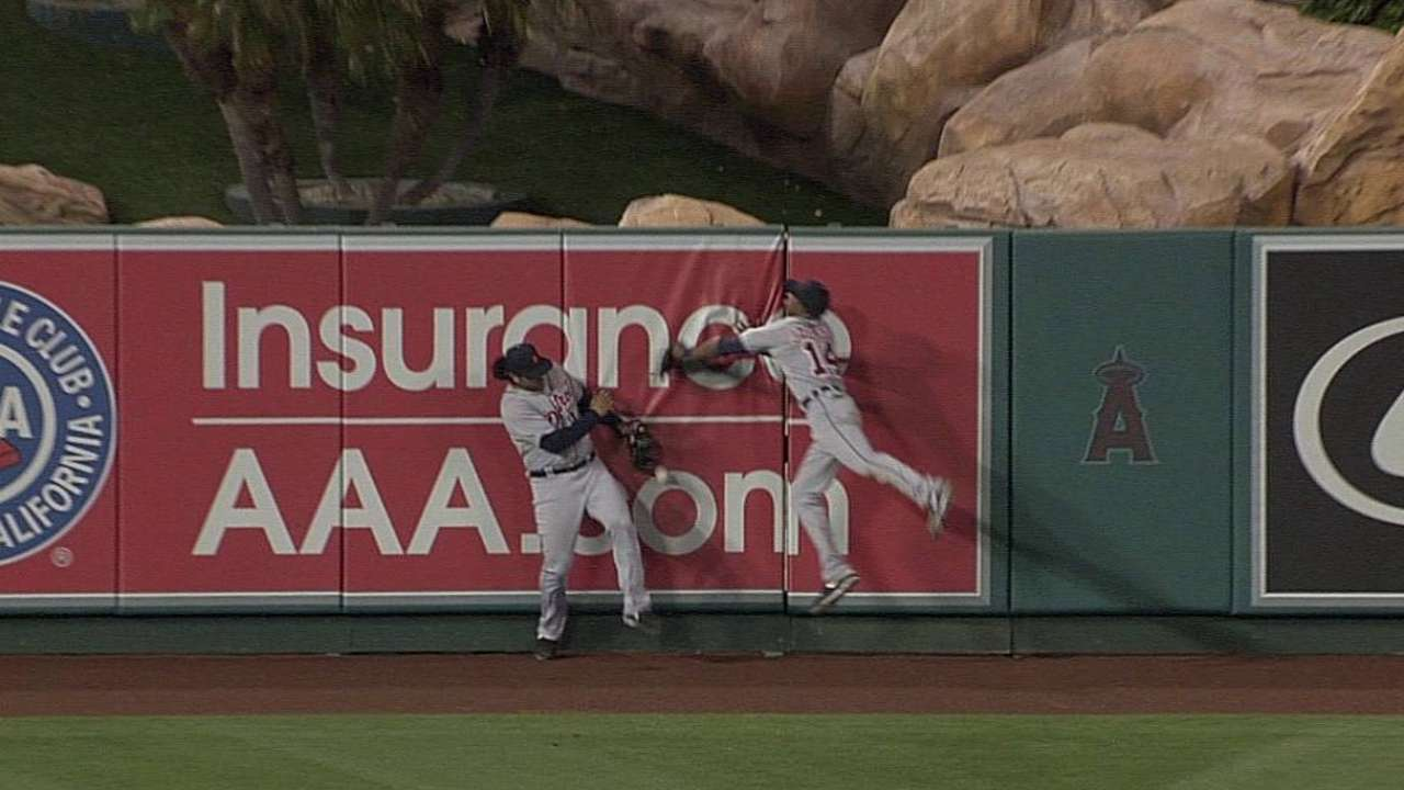 Angels' speed isn't translating into stolen bases