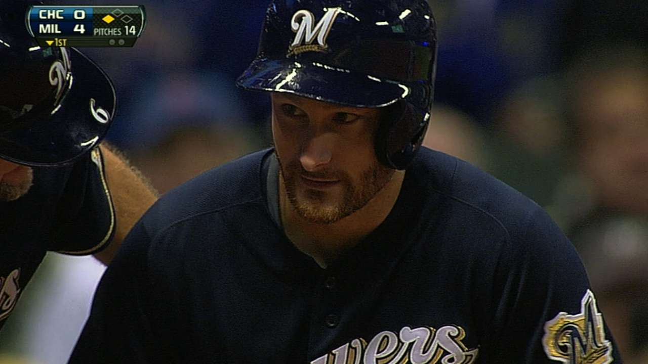 Brewers top Cubs, push winning streak to five