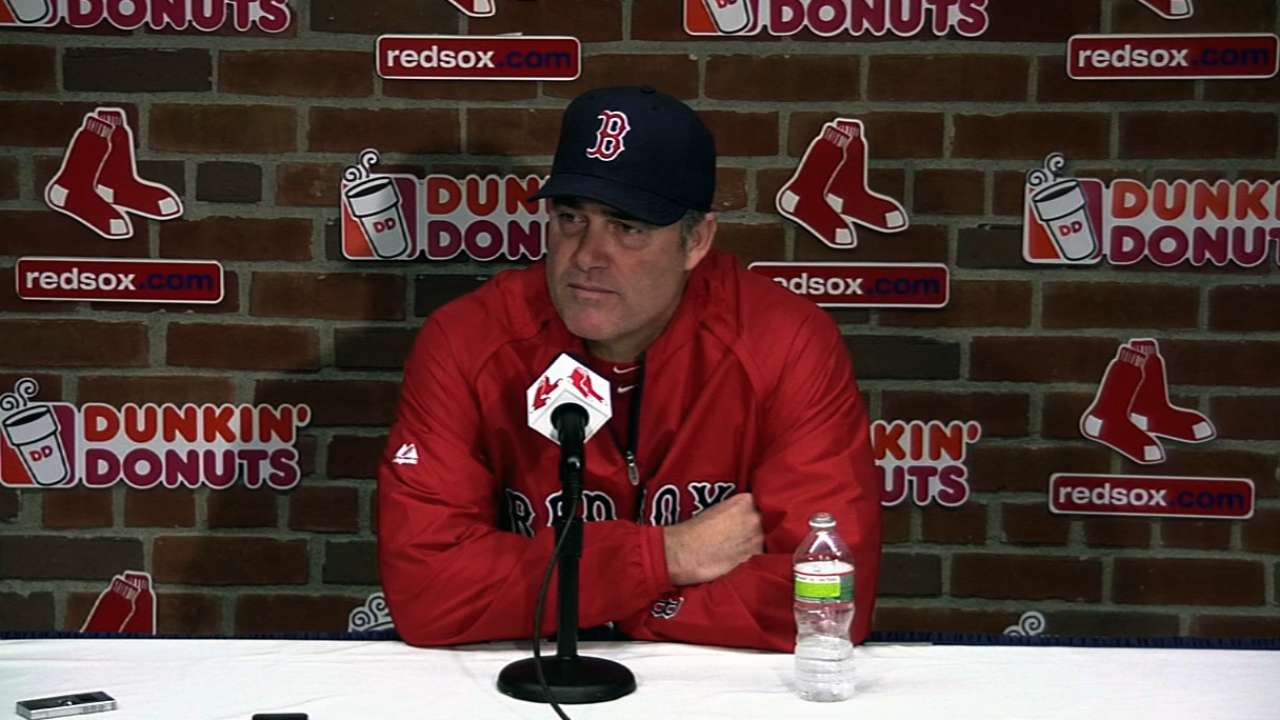Red Sox wear 'Boston' on their home whites