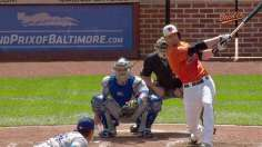 Hammel holds fort until Reimold rallies O's