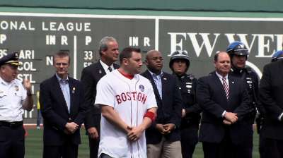 Tragic event made Red Sox 'Boston Strong'