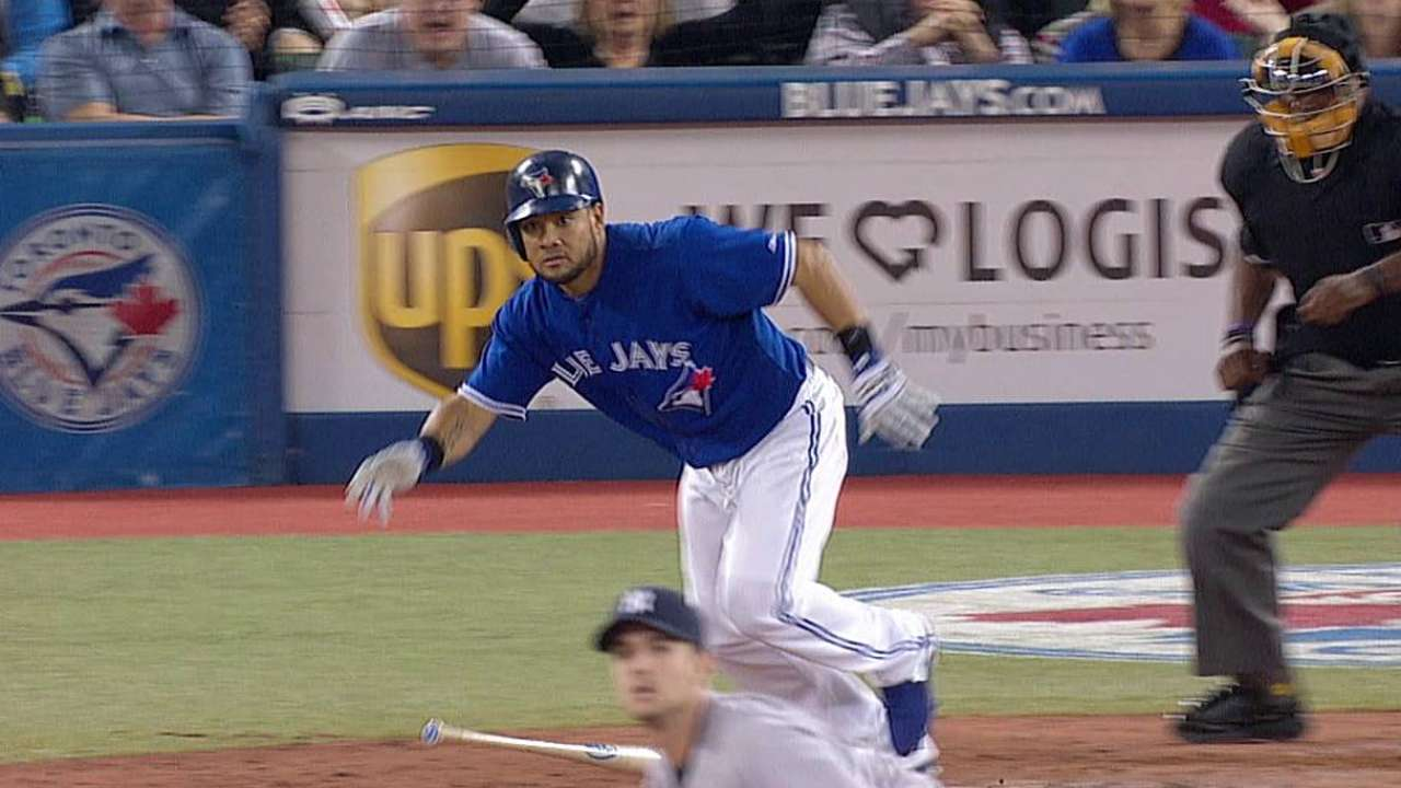 Blue Jays rally late, but fall in 11 to Yankees