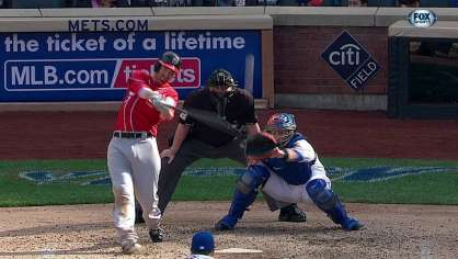 LaRoche hits a two-run homer