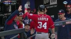 Harper's multihomer effort secures win for Nationals