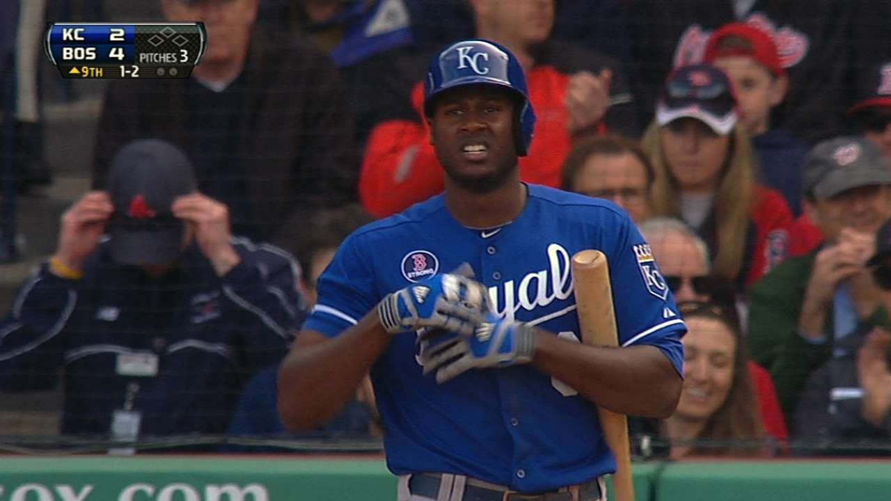 Royals complete rather bizarre road trip
