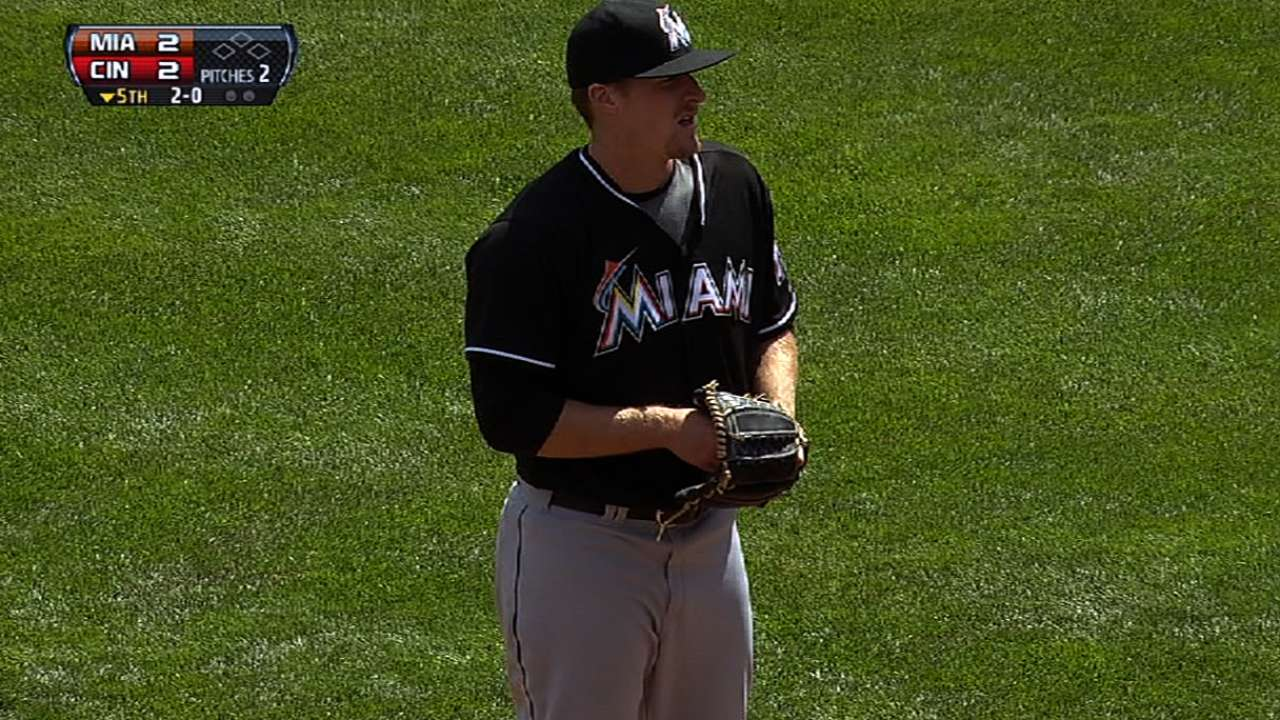 Koehler's versatility a big relief for Marlins