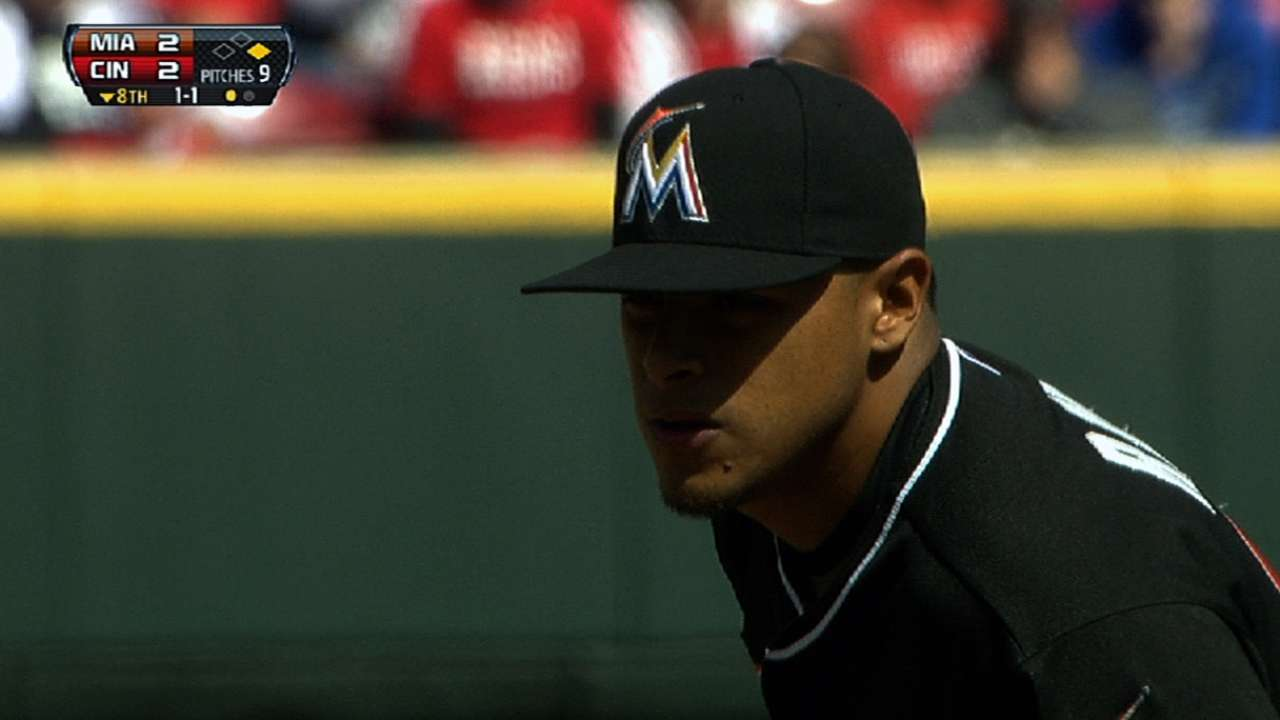Bullpen a bright spot for Marlins on long day