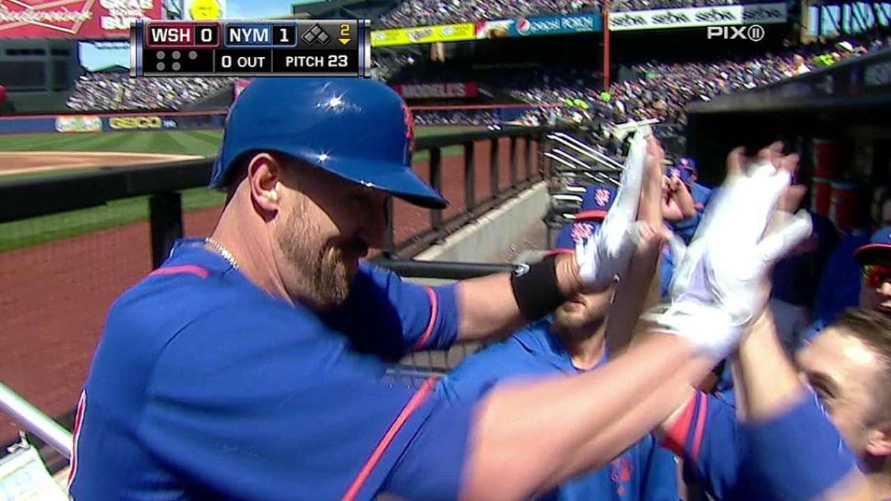 Mets superan a Nacionales guiados por Gee y Buck