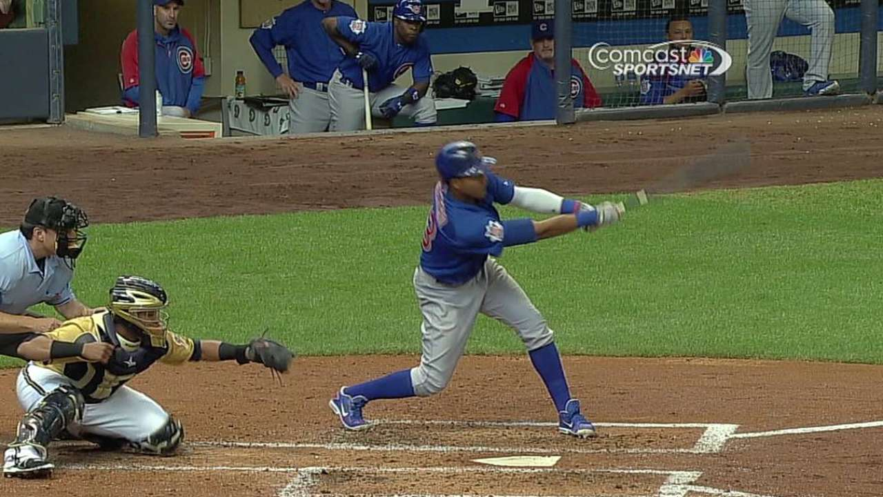 Castro increases hitting streak to NL-best 13