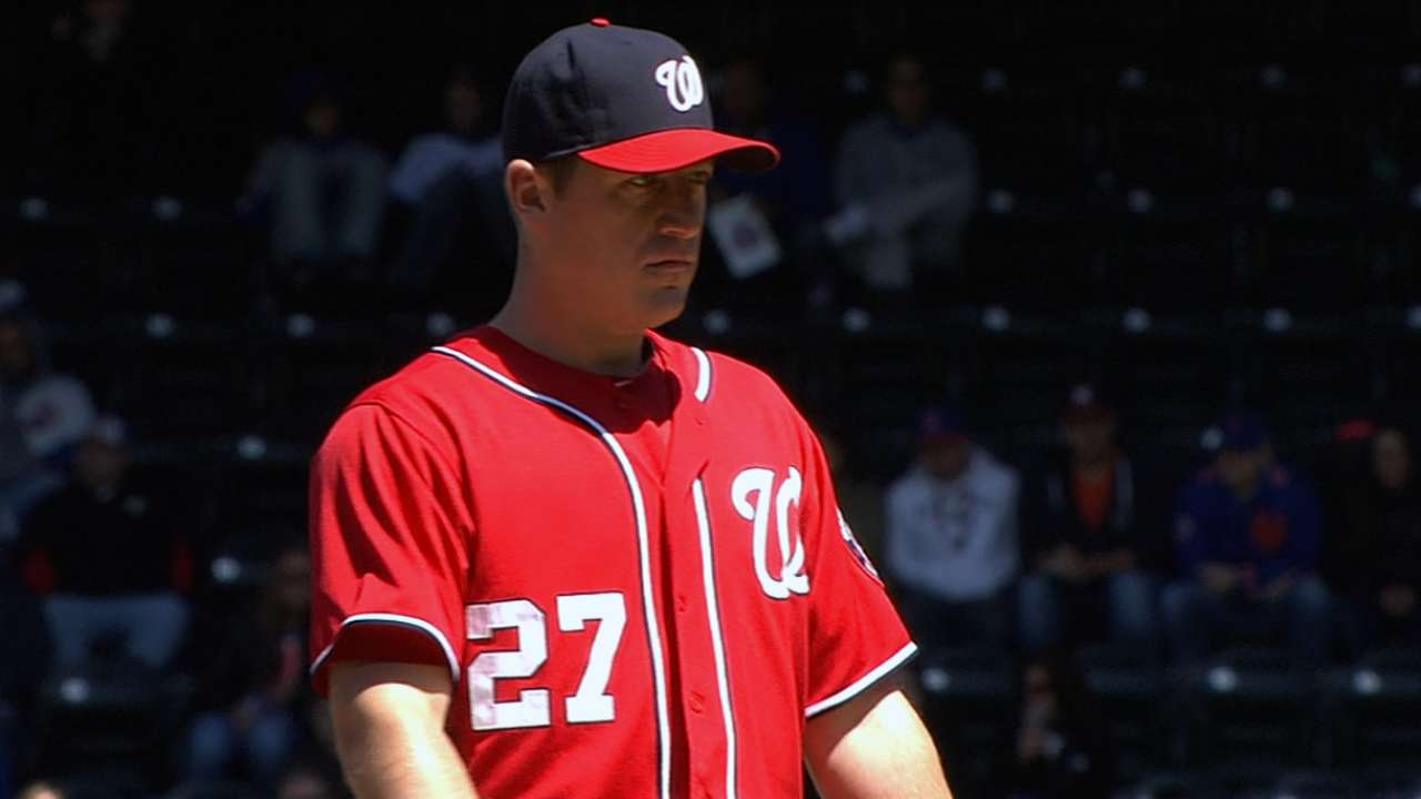 Nationals kept off the board in finale loss to Mets
