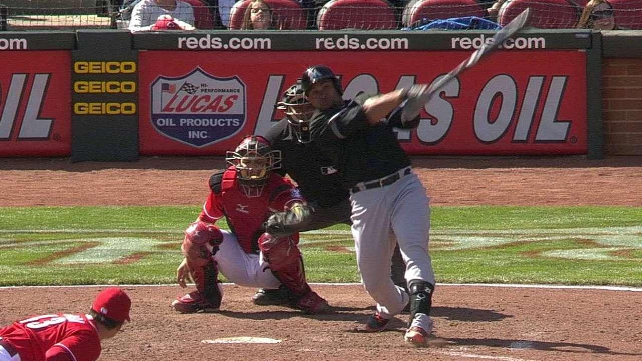 Big inning sinks Sanabia, Marlins in Cincinnati