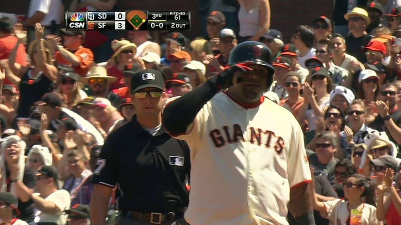 Giants becoming hard to strike out