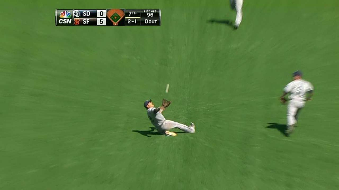 Padres' offense stagnant in sweep by Giants