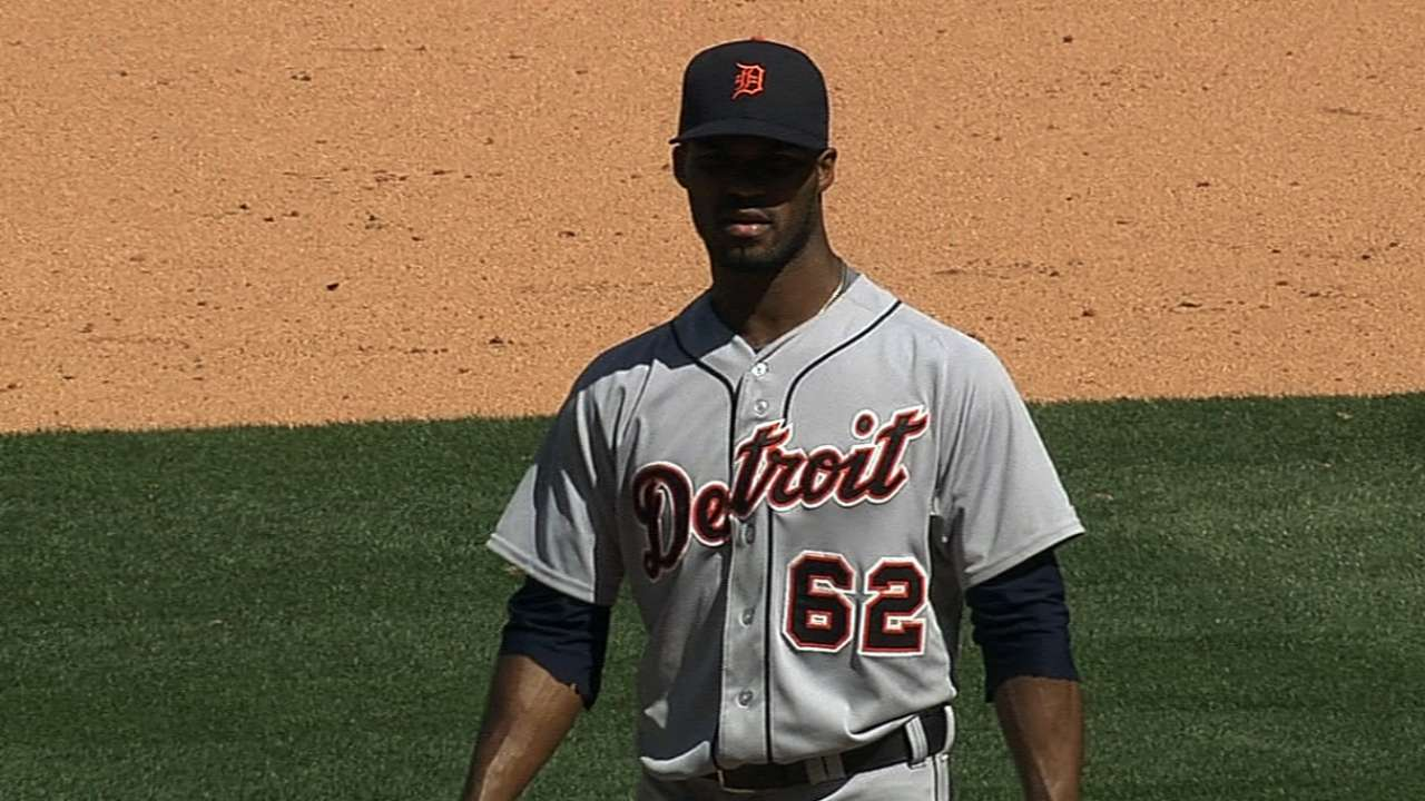 Alburquerque appears back in form for Detroit