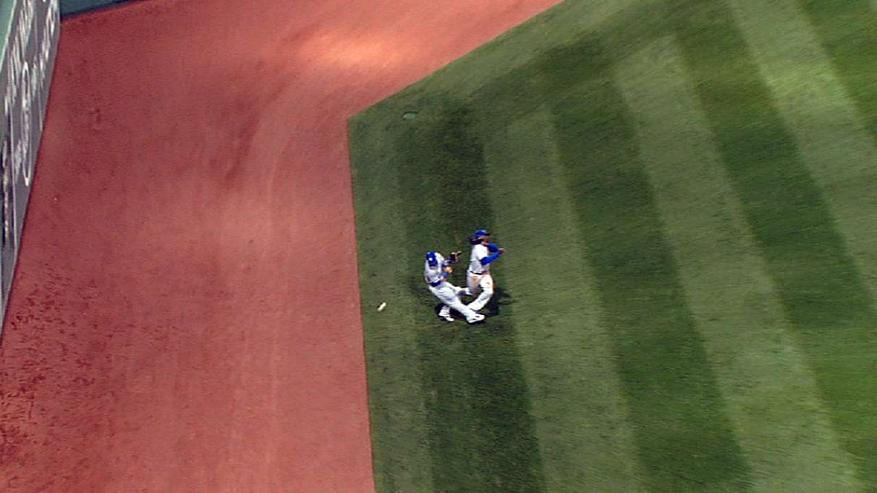 Gordon takes blame for collision with Cain