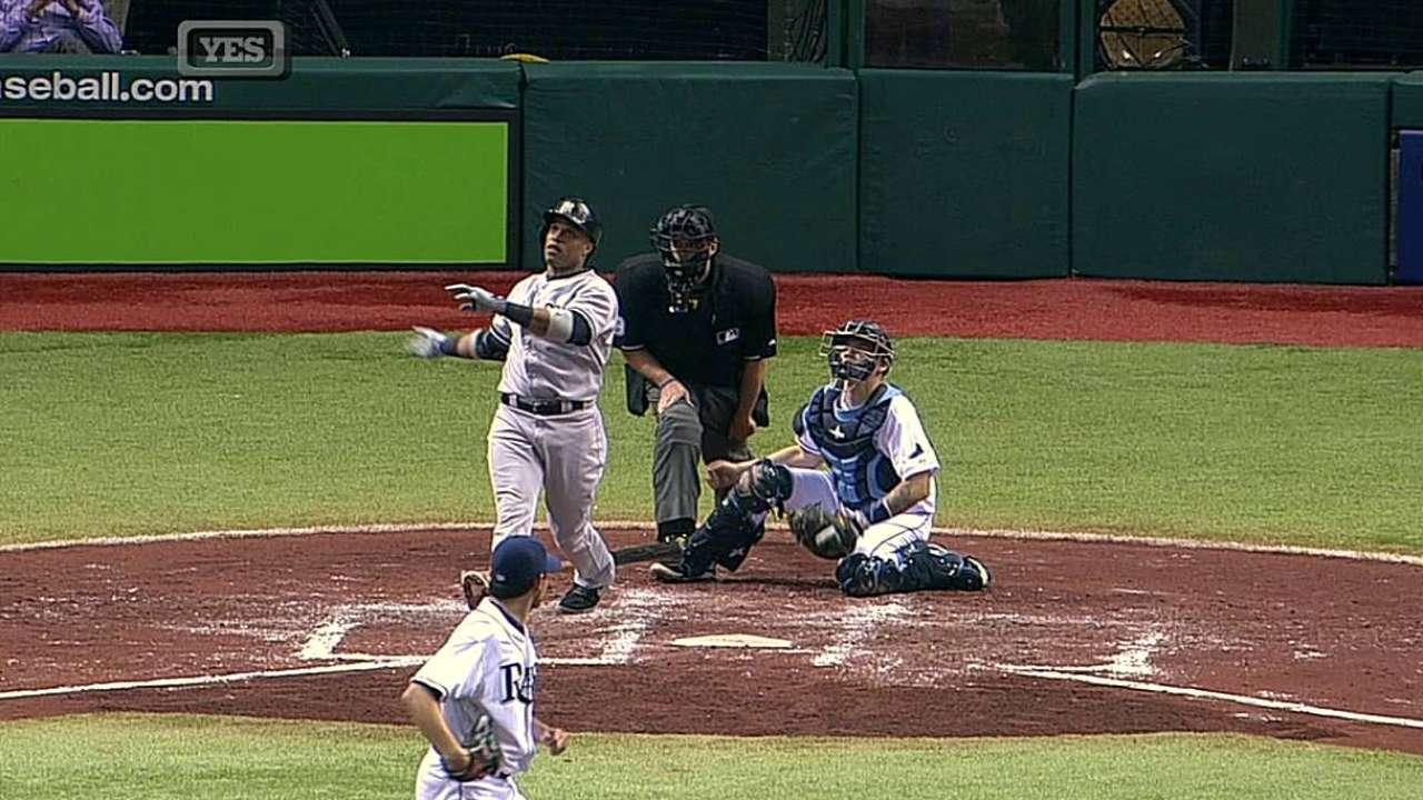 Yankees maniatados por Moore en Tampa Bay