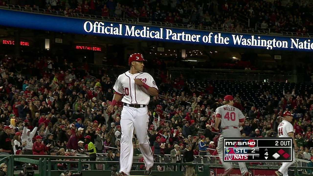 Rendon more comfortable in Nats' clubhouse