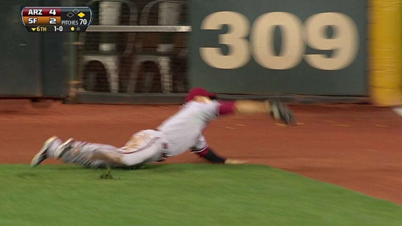 Ross can't grasp how he made diving grab