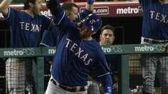 Pierzynski's ninth-inning blast caps Rangers' rally