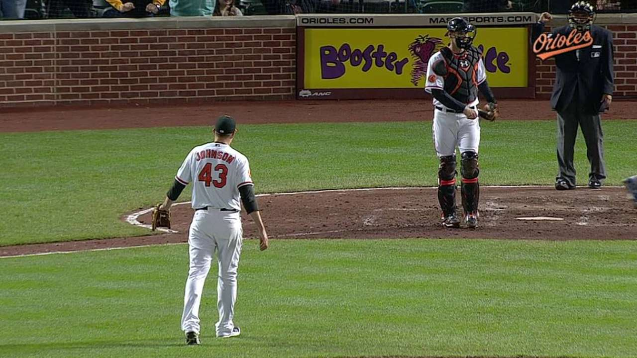 Four-run second holds for Orioles in slim win
