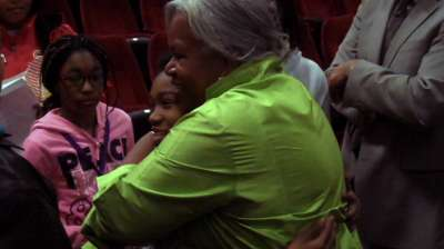 Sharon Robinson honors father's legacy at FanFest
