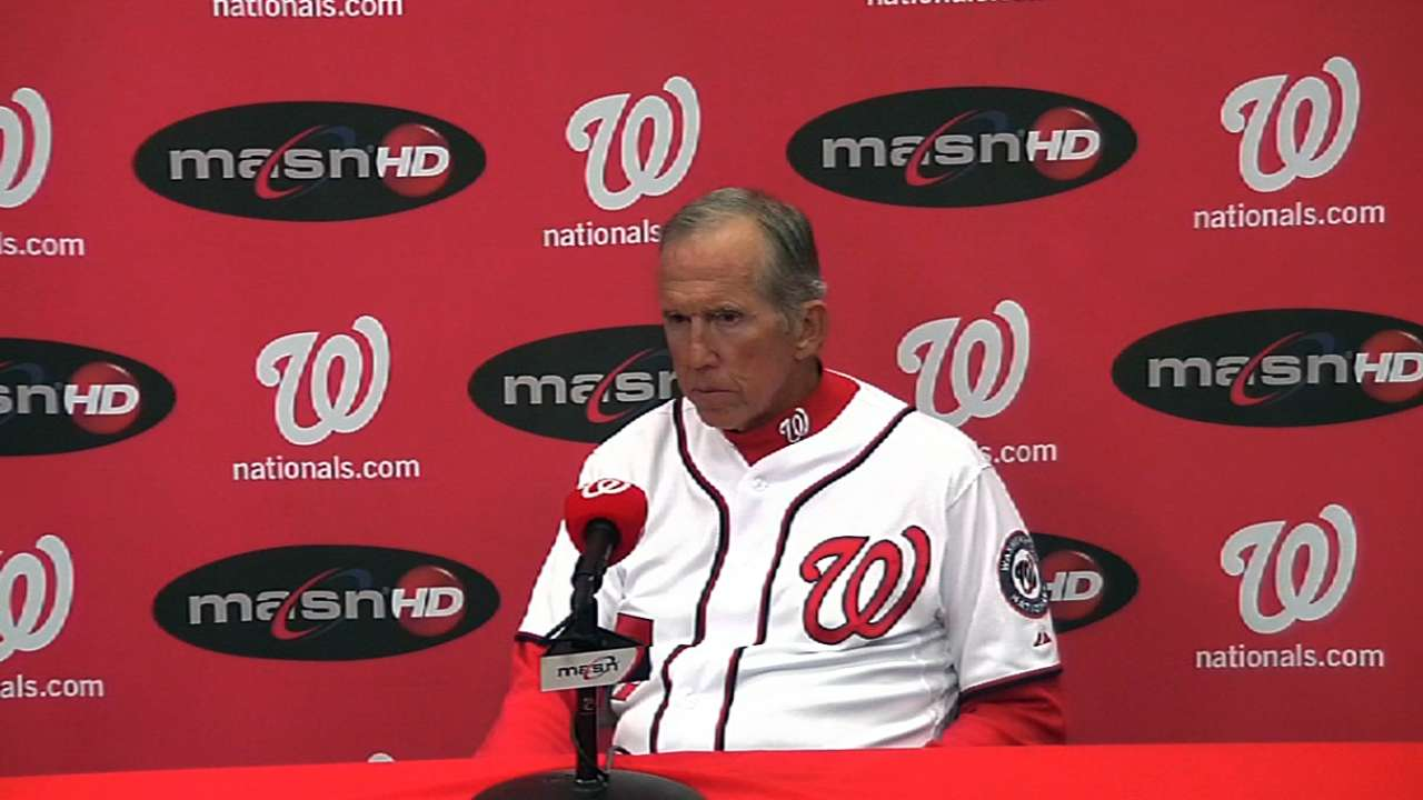 For Detwiler, tough loss as Nationals blanked