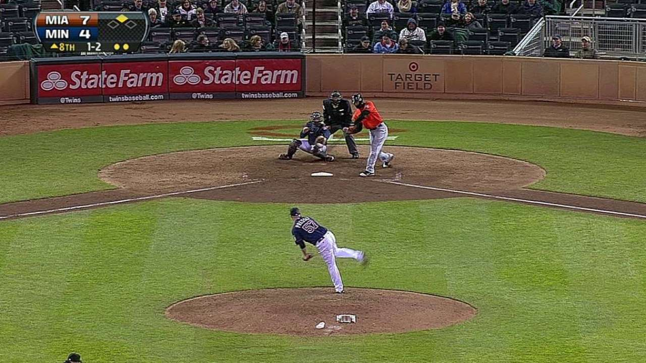 Stanton finding his groove at the plate