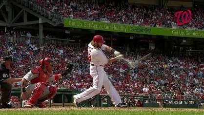 Werth hits a solo homer