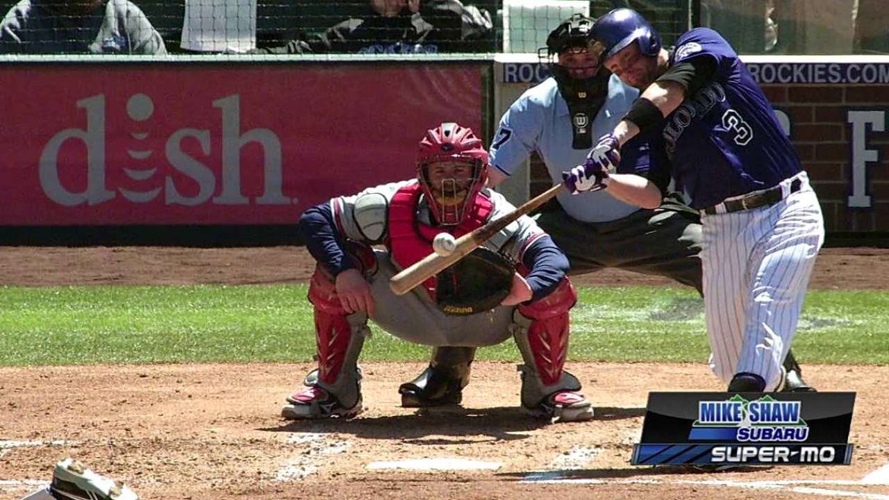 Cuddyer more at ease during Year 2 in NL