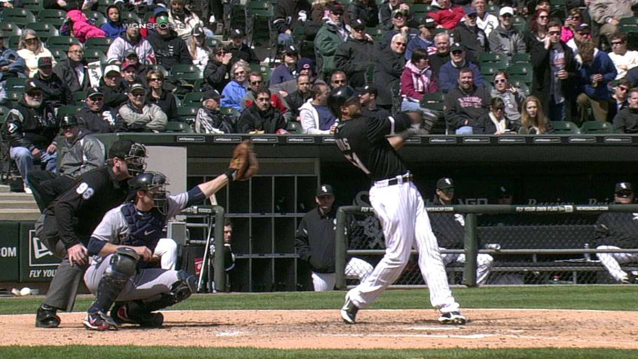 Rios' HR helps White Sox end four-game slide