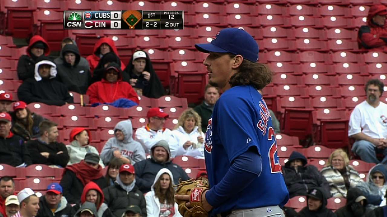Samardzija talks contract after Rizzo's extension