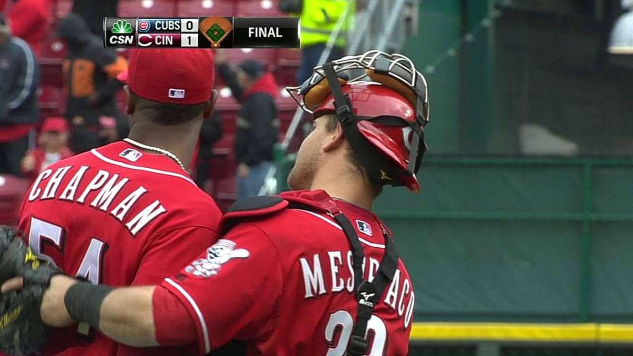 Jonrón de Frazier le dio la victoria a Rojos vs. Cubs
