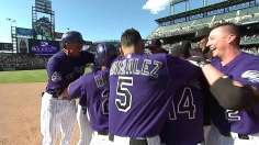 Torrealba, Fowler heroes in Rockies' 12th-inning win
