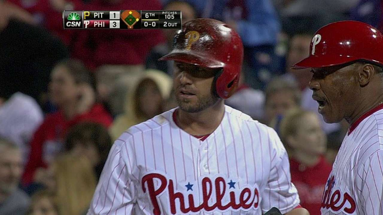 Frandsen calls SF home, but happy with Phillies